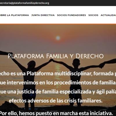 GARCÍA LATORRE ABOGADOS, entra a formar parte, como socio, de la Plataforma Familia y Derecho